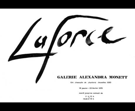 Laforce – Galerie Alexandra Monett – Brussels, 1978